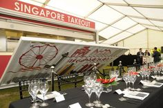 singpore takeout - shipping container kitchen