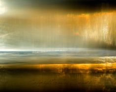 SALE 20 The Sea Glows Abstract Landscape by FrancesPhotography, $112.00