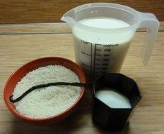 Jak si uvařit domácí mléčnou rýži | recept Liquid Measuring Cup, Measuring Cups, Haha