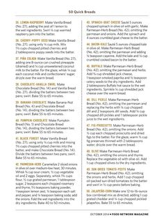50 Quick Breads Food Network Magazine, Oct 2014, (S14-S15)