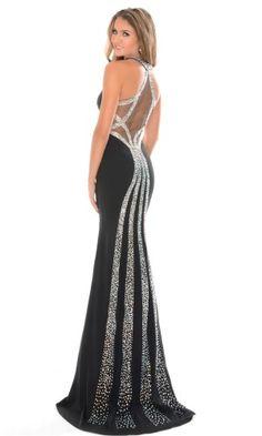 53a8f725e936e Precious Formals Prom Dress P23007 Bling Prom Dresses