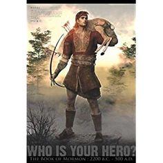 LDS Book Of Mormon Hero Poster 24x 36 Matte Finish Print
