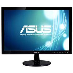 """ASUS 18.5"""" LED - VS197DE disponible ici.  Faites l'achat d'un moniteur LED à petit prix ! Avec l'écran ASUS VS197DE vous profiterez d'une bonne qualité d'image sans vous ruiner. Son écran large de 18.5"""" offre des couleurs riches et nuancées grâce à son contraste dynamique élevée de 50 000 000:1."""