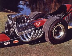 Vintage shots from days gone by! Top Fuel Dragster, Nhra Drag Racing, Vintage Race Car, Drag Cars, Car Humor, Fast Cars, Monster Trucks, History, Hot Rods