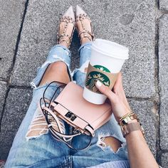Image de fashion, girl, and jeans