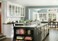 Relaxing Transitional Kitchen by Rose Marie Carr