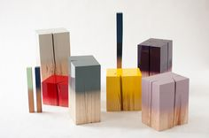 Los exclusivos taburetes Trift Edition de Judith Seng