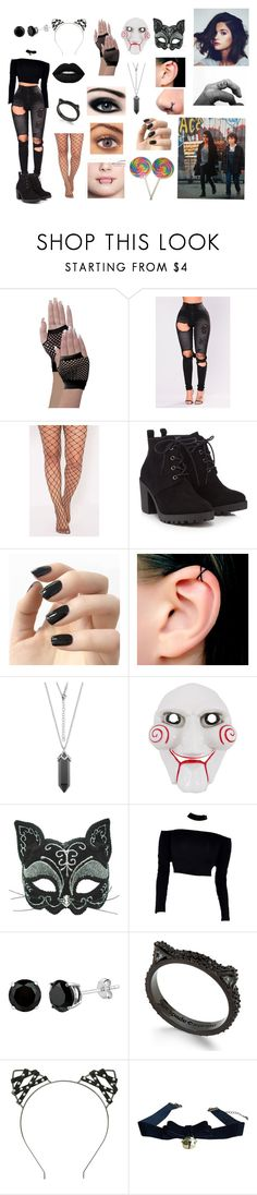 """""""Niniya with Kali and the Gang, Stranger Things"""" by garnet1626 on Polyvore featuring Red Herring, Incoco, Kate Spade and Hot Topic"""