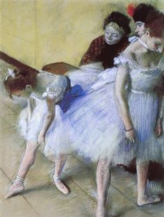 The Dance Examination by Edgar Degas