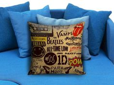 5sos one direction pow quote Square Pillow Case #pillow #case #pillowcase #custompillow #custom