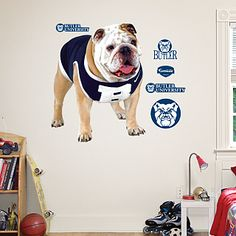 The Butler Blue II Fathead. It's a sure way to spruce up any wall.