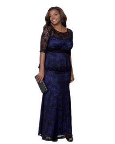 1c5a7982b8e40 Aliexpress.com   Buy 7XL Women s Plus Size Lace Peplum Gown Dresses 2016  Spring Women Black Blue Hot Pink Long Formal Dress 8 4XL 5XL 6XL from  Reliable ...