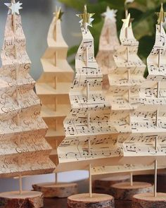 Sweet upcycled trees