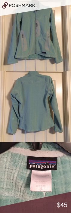 Patagonia jacket Patagonia fleece and mesh lined jacket size medium!  Has been worn a few winters but still in good condition.  No flaws or stains.  Has three pockets total that zip. Patagonia Jackets & Coats