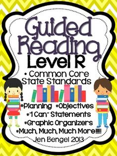This is a 149 page resource to help teachers plan, instruct, and assess students in a level R guided reading group. It covers 40 teaching fiction, nonfiction, and word work objectives that are all linked to Common Core State Standards. There are tons of printable resources for practical use. Just add the books and the students!!