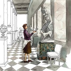 ILLUSTRATIONS FOR BANK ST. PETERSBURG Created By: Darya Malikova