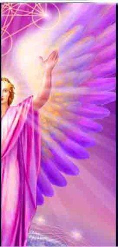Archangel Metatron   Will help you with motivation and organisation, also chakra alignment, and may send you spiritual guidance through your dreams. He likes to work with children too, (particularly psychic or sensitive children) and he loves to help those of us who work amongst the younger generation.   Crystal affinity: Watermelon Tourmaline.