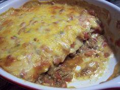 Spicy Ground Beef Casserole Recipe, Mexican Beef Casserole