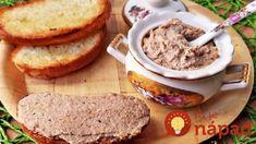 Falošná paštéta hotová za pár minút! Romanian Food, Cottage Cheese, Banana Bread, Mashed Potatoes, French Toast, Brunch, Food And Drink, Gluten Free, Yummy Food