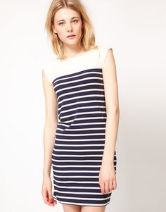 Stripe Dress / French Connection