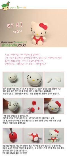 DIY Clay Hello Kitty DIY Projects | UsefulDIY.com