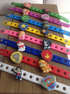 8 or 16 Paw Patrol Party Favor Charm by ThePolkaDottedRoom on Etsy