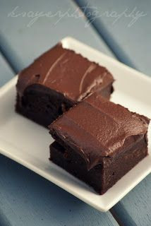 best vegan brownies ever...dense, moist and heavy in weight and chocolate!