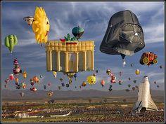 Festival de balonismo de Albuquerque http://blog.ludevie.com.br