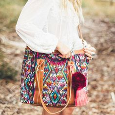 Nena & Co. Vintage Lucia Carryall