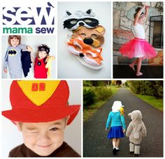 sew: hats, masks, tutus, and capes: costume basics || round-up by imagine gnats for Sew, Mama, Sew