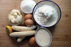 Κέικ μπανάνας ⋆ Cook Eat Up! Camembert Cheese, Banana, Cooking, Breakfast, Cake, Food, Kitchen, Morning Coffee, Kuchen