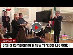 Torta di compleanno per Leo Cenci a New York in attesa della maratona