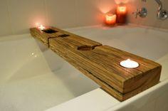 Bathtub Tray for Your Bathroom Accessories: Bathtub Tray | Wooden Bath Caddy | Bathtub Caddies | Bathtub Book Holder