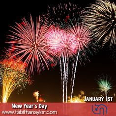 Probably one of the most recognized holidays around the world, New Year's Day is observed January 1.    Celebrations will begin in the Pacific Ocean with Samoa celebrating the New Year before the rest of the world.  The latest stroke of midnight will occur in the middle of the Pacific Ocean near Baker Island which is halfway between Hawaii and Australia.    Did you make any resolutions relating to your job?