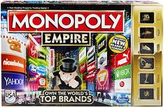 Monopoly Monopoly Game, Ticket To Ride, Adult Party Games, Game Title, Game 4, Family Games, Board Games, Empire, Fill