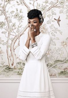 """The Walking Dead star Sonequa Martin-Green in Oasis photographed by Squire Fox for Good Housekeeping, November 2015.  """