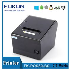 The Fast And Versatile Thermal Printer 80 mm Barcode/Qr Code With Long Life Black Mark Detection FK--POS80BS