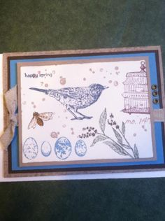 Stampin Up Nature Walk