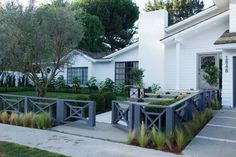 Outdoor Iron Low Modern Front Yard Fences