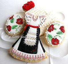 Galletas vestido regional