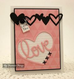#papercraft #Valentines #card: The Scalloped Edge: MFT January Release Countdown: 1!