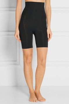 Spanx - Thinstincts High-rise Shorts - Black - x small
