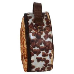 Snack Attack Cookie Lunch Bag - Accessory Innovation, Brown