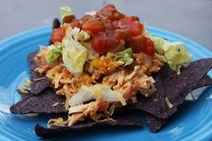 Shredded Mexican Chicken in the Crock-Pot