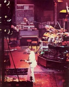 Emerson, Lake & Palmer- yes, it's embarrassing. You can kind of see why after they peaked, punk rock came along to destroy what they did.