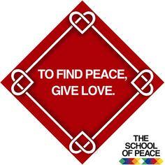 ........................................ #theschoolofpeace #peace #peaceful #innerpeace #findpeace #givelove  #love