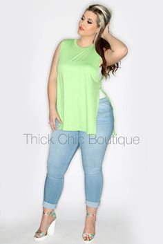 Open Side Top   Thick Chic Boutique