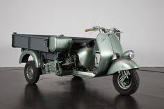 1954 Piaggio APE Cassone | Classic Driver Market Vespa Bike, Piaggio Ape, Motorcycle, Classic, Vehicles, Scooters, Autos, Italia, Biking