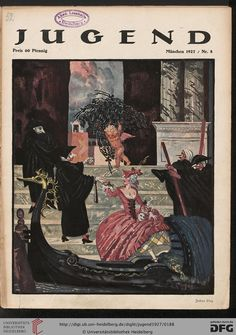 Jugend, German illustrated weekly magazine for art and life, Volume 32, 1927.