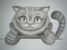 Oh yes, in case you don't know (somehow), this is Tim Burton's version of the Cheshire Cat. Description from deviantart.com. I searched for this on bing.com/images
